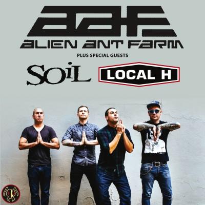 Alien ant farm tickets tour dates concerts alt tickets for Soil uk tour 2016