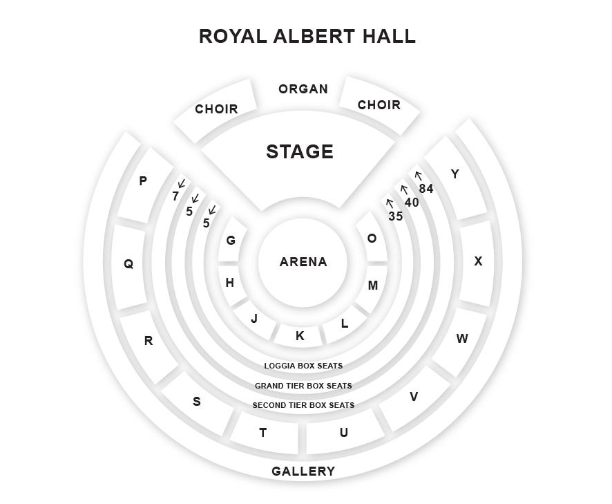 Beth hart royal albert hall london 04 05 2018 18 45 for Door 9 royal albert hall