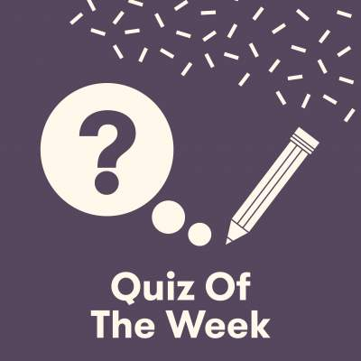 An image for Quiz of the Week!