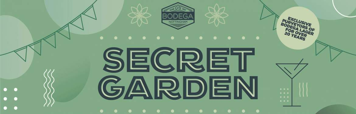Bodega Secret Garden tickets