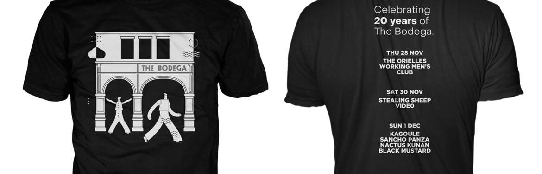 Bodega T shirts (merchandise) tickets