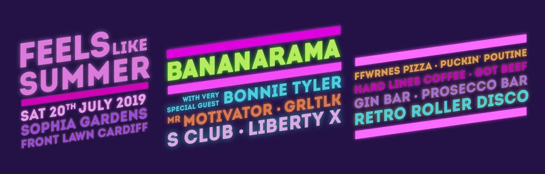 Feels Like Summer ft: Bananarama, Bonnie Tyler and Mr Motivator  tickets