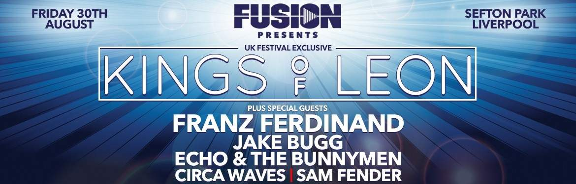 Fusion Presents... <br/> Jake Bugg added!
