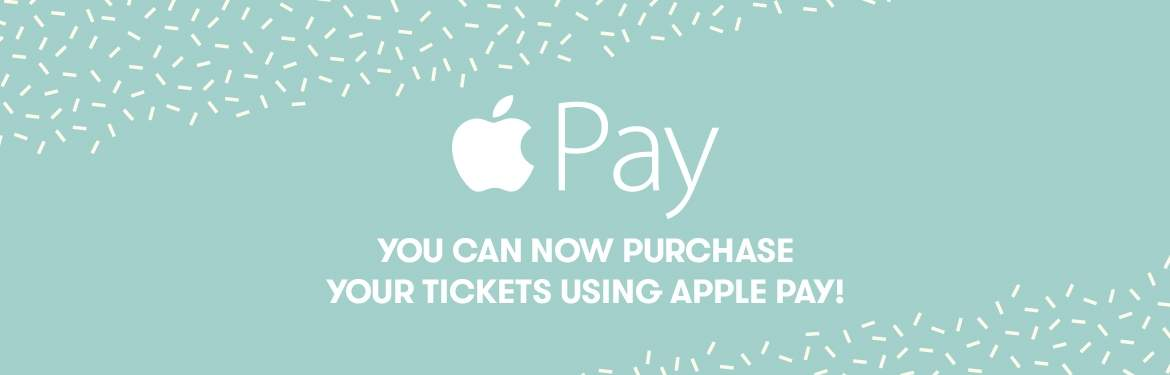 Pay with Apple Pay!