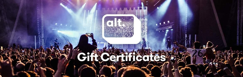 alt. Gift Certifcates!