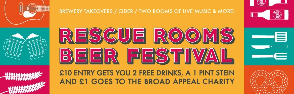 Rescue Rooms Beer Festival tickets