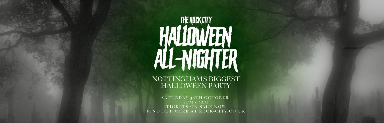 Rock City Halloween All-Nighter tickets