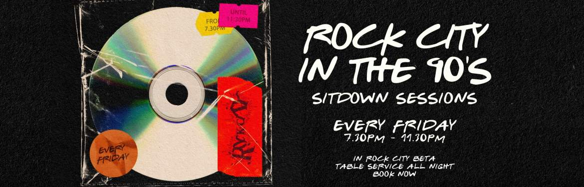 Rock City in the 90's tickets