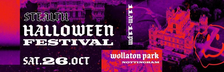 Stealth Halloween Festival tickets