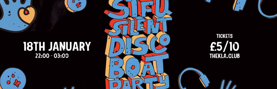 STFU - Silent Disco Boat Party / Caring In Bristol  tickets