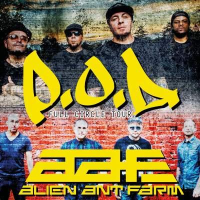 POD ALIEN ANT FARM Tickets Tour Dates Concerts