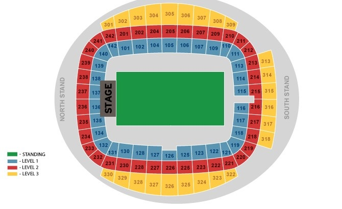 Ed Sheeran Etihad Stadium Manchester 25 05 2018 17 00
